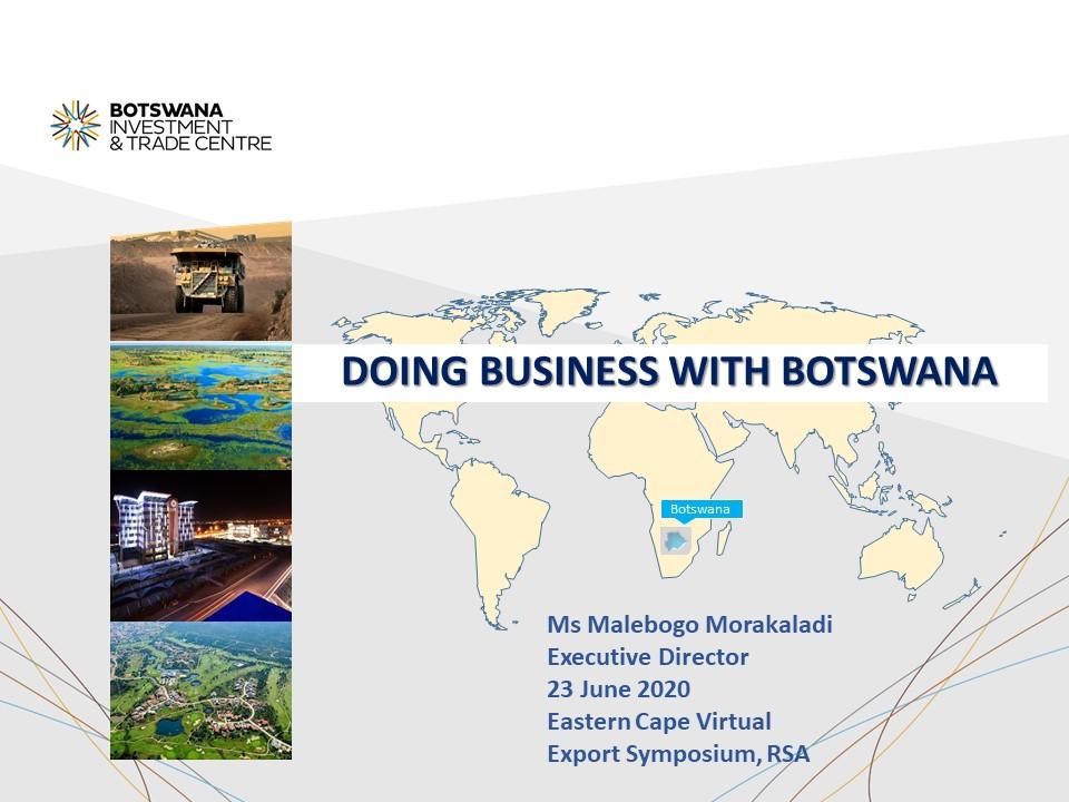 Botswana Botswana Slide 1
