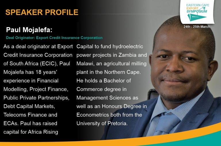 Paul Mojafela – ECIC