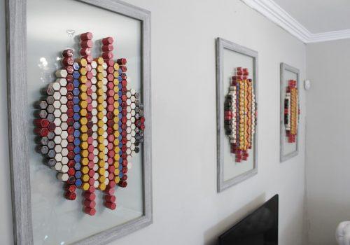 The Colourcomb Triptych_Litha Ncokazi